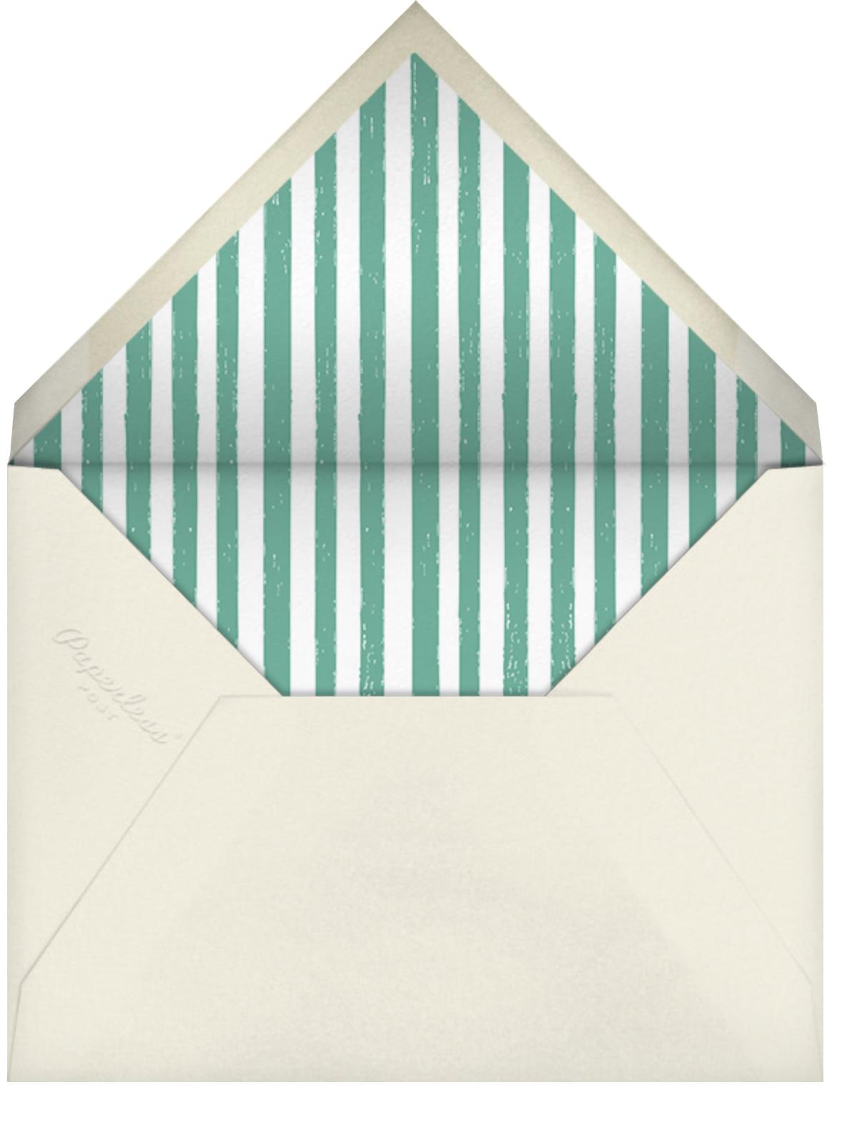 Hands Full - Mr. Boddington's Studio - Thanksgiving - envelope back