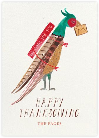 Air Mail - Mr. Boddington's Studio - Thanksgiving Cards