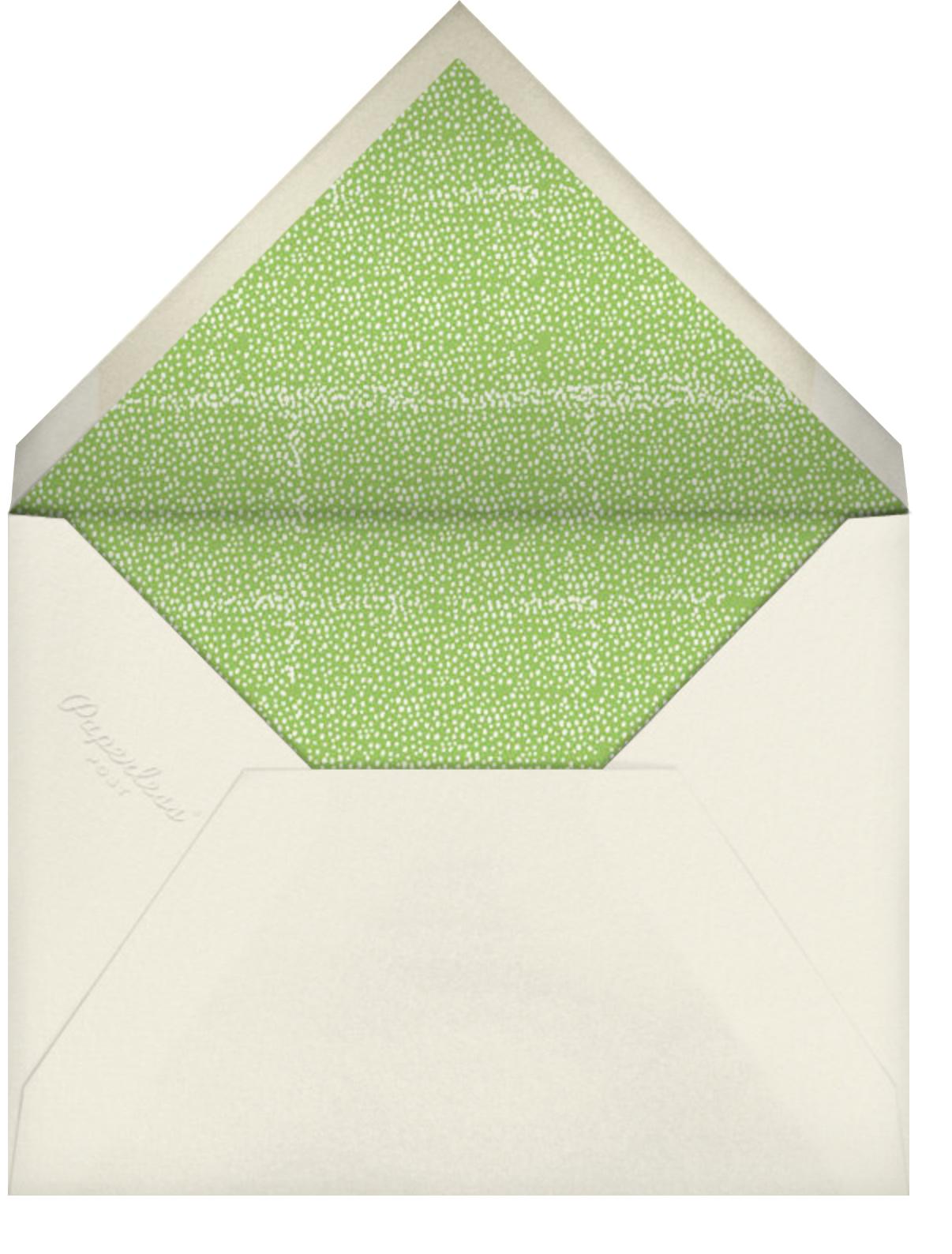 Nine Pies - Mr. Boddington's Studio - Thanksgiving - envelope back