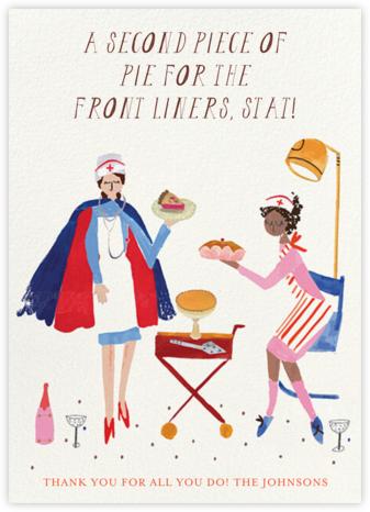 Doctor's Orders - Mr. Boddington's Studio - Thanksgiving Cards