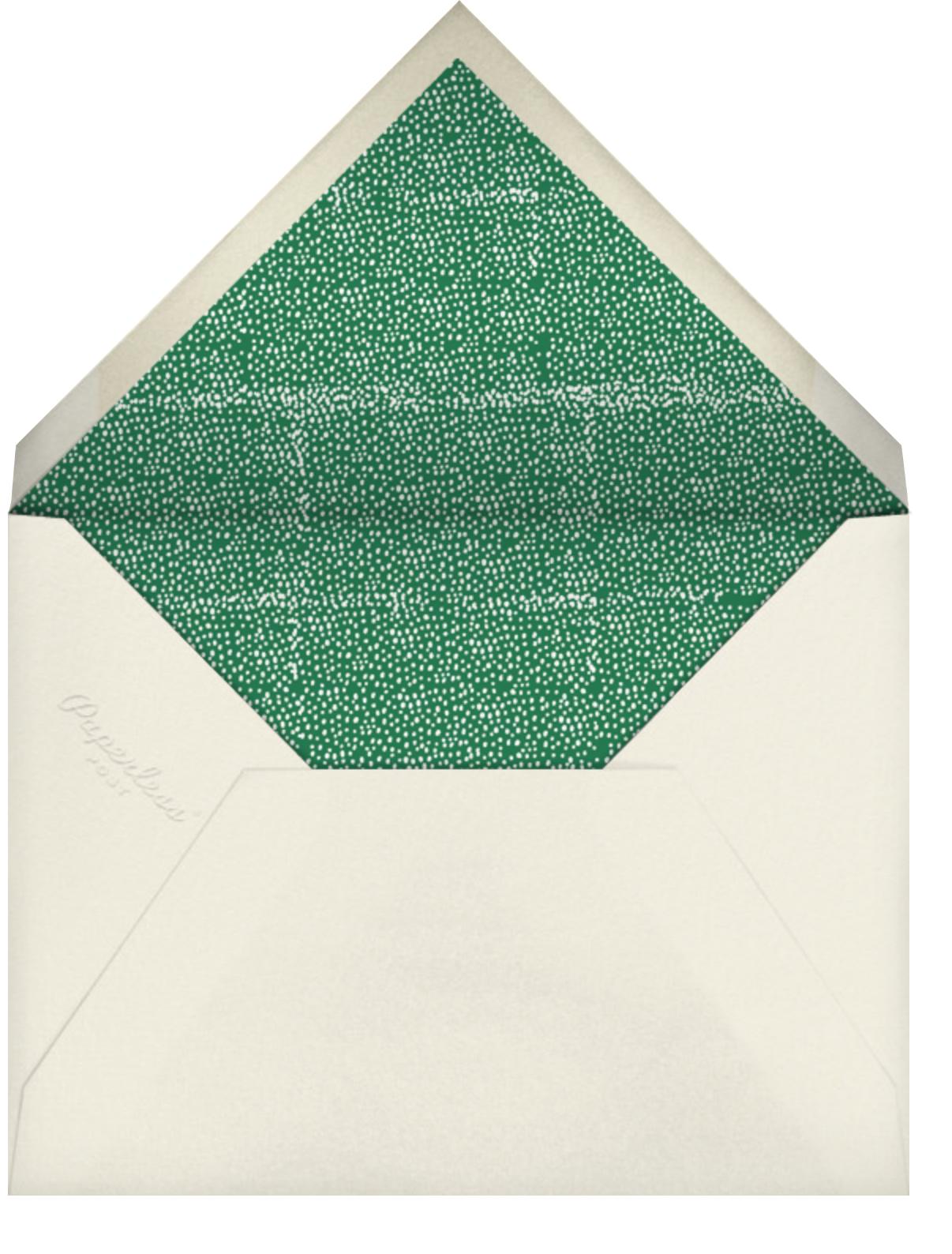 Regal Turkey - Greeting - Mr. Boddington's Studio - Thanksgiving - envelope back