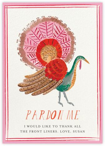 Regal Turkey - Greeting - Mr. Boddington's Studio - Thanksgiving Cards