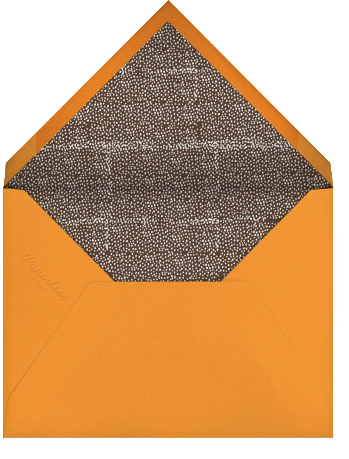 Autumn Foliage - Mr. Boddington's Studio - Thanksgiving - envelope back