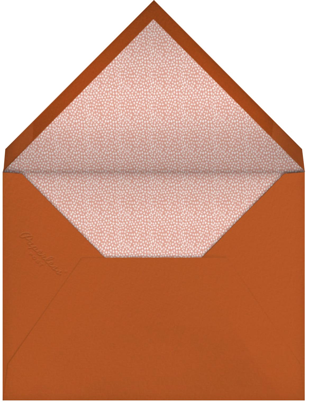 Foraged Frame - Greeting - Mr. Boddington's Studio - Thanksgiving - envelope back