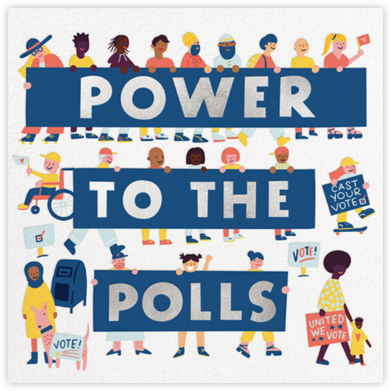Poll Power - Hello!Lucky - Political action