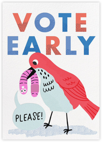 Early Voter - Hello!Lucky - Political action