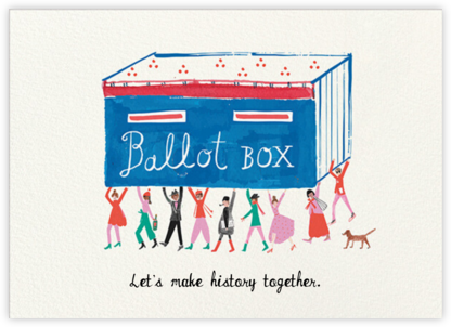 Ballot Box - Mr. Boddington's Studio - Political action