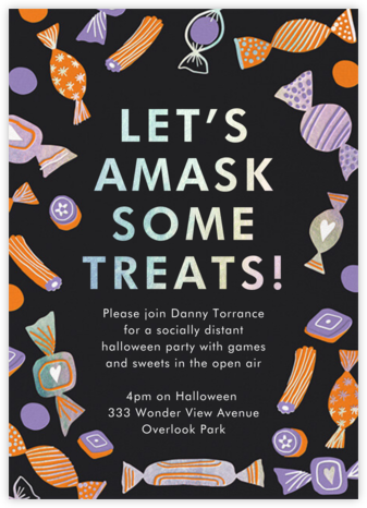 Halloween Sweets - Hello!Lucky - Halloween invitations