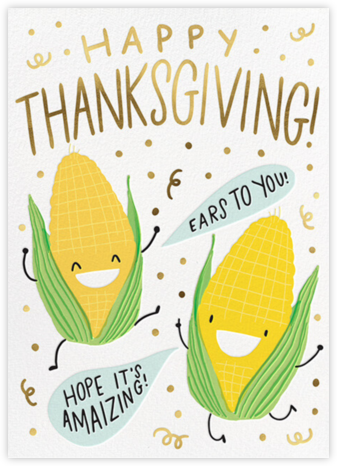 Corny Buds - Hello!Lucky - Thanksgiving Cards