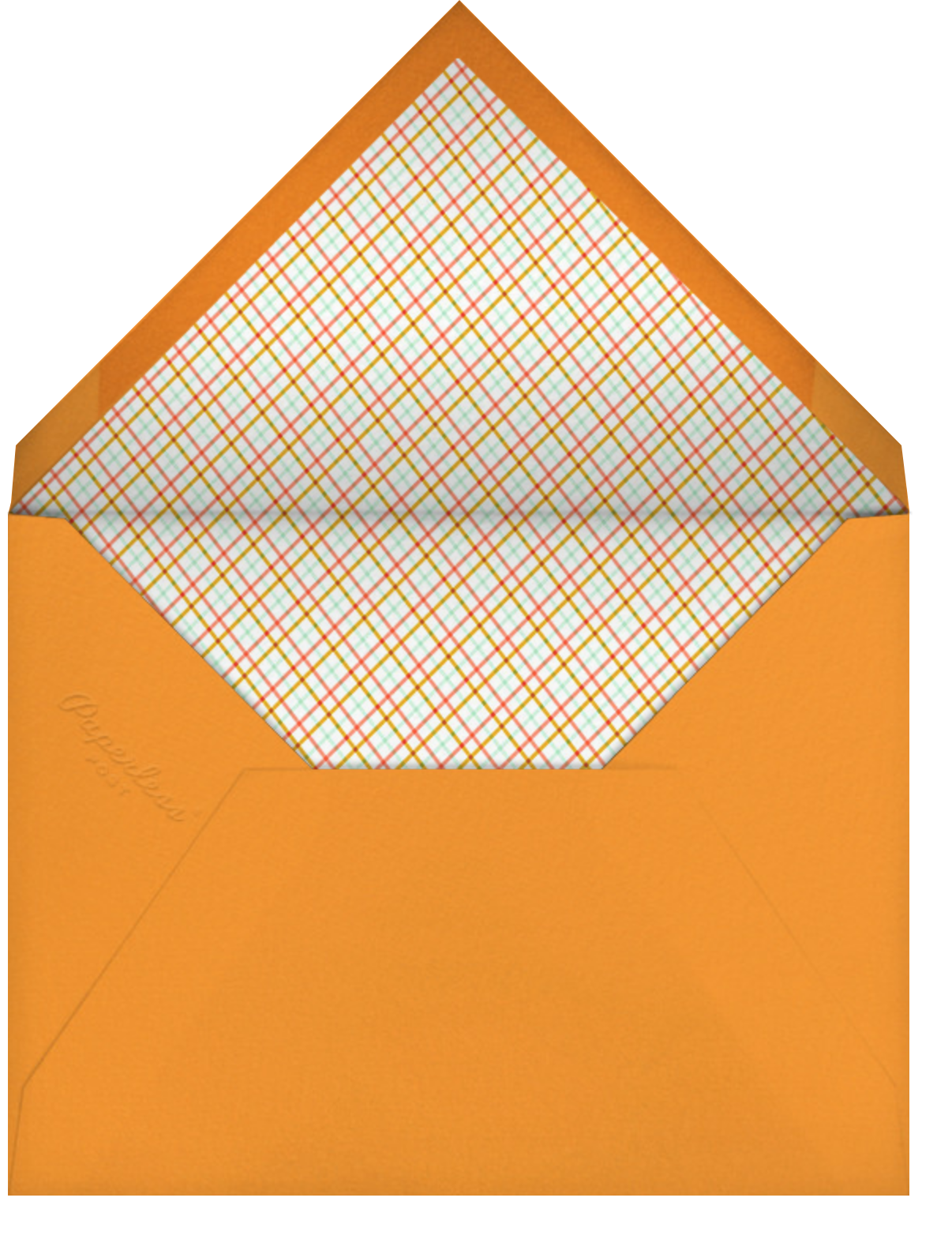 Gourdgeous - Hello!Lucky - Thanksgiving - envelope back