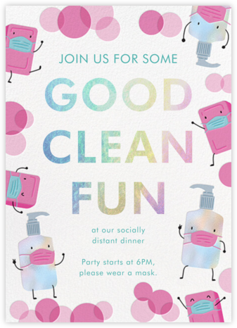 Clean Fun - Hello!Lucky - Invitations
