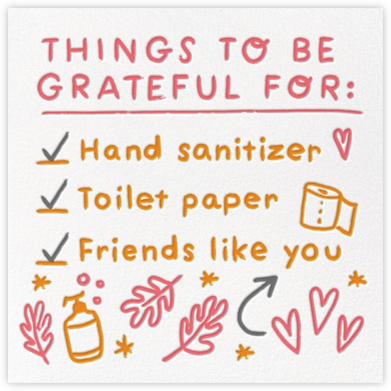 Three Checks - Hello!Lucky - Thanksgiving Cards