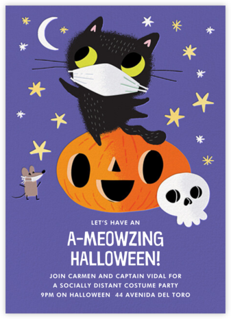 Mask Friends - Hello!Lucky - Halloween invitations