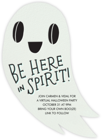 Here in Spirit - Hello!Lucky - Halloween invitations