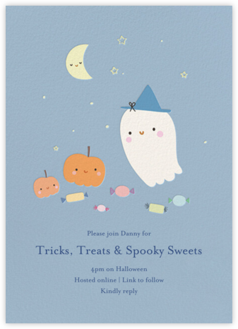 Night Crew - Little Cube - Halloween invitations