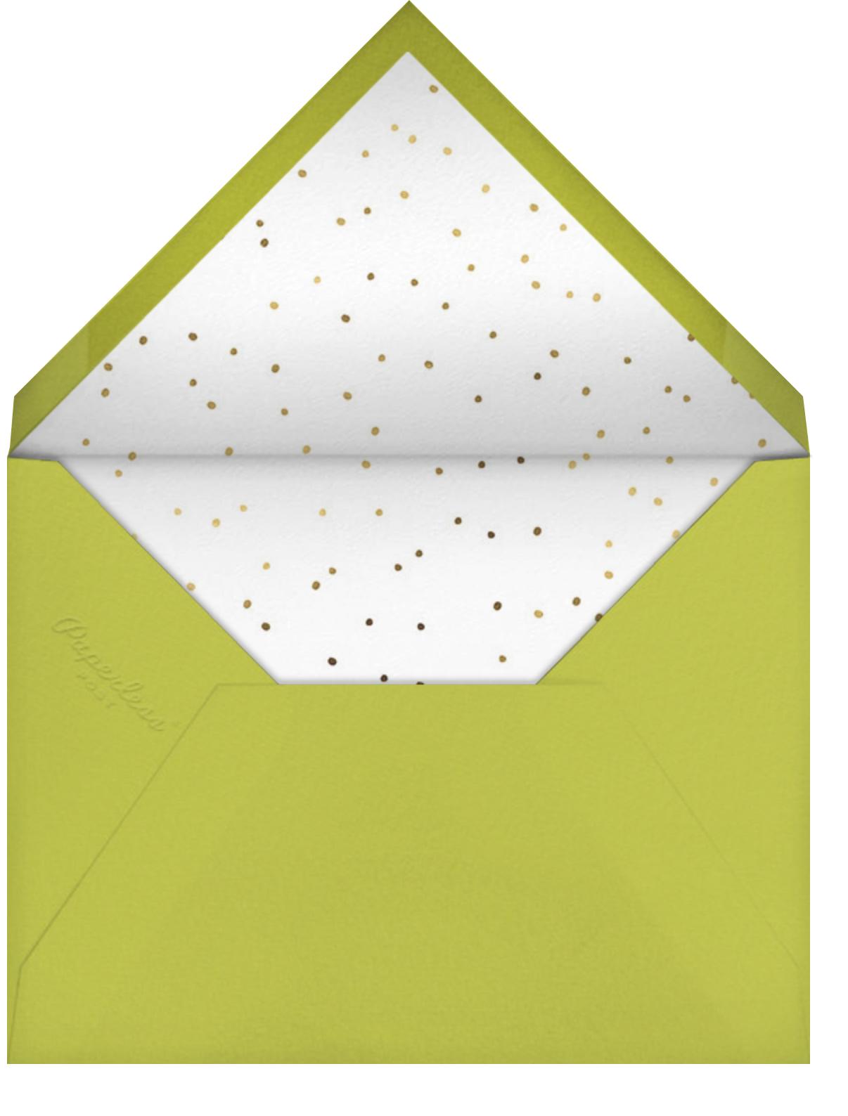 Freaky Friends - Little Cube - Halloween - envelope back