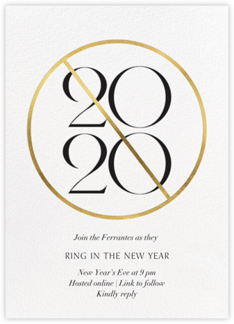 Cancelled - Paperless Post - New Year's Eve Invitations