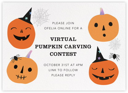 Pumpkin Club - Meri Meri - Virtual Parties