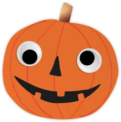Goofy Pumpkin - Meri Meri - Virtual Parties