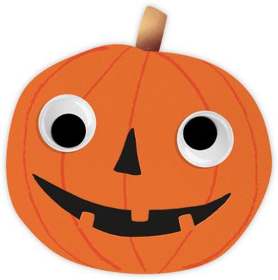 Goofy Pumpkin - Meri Meri -