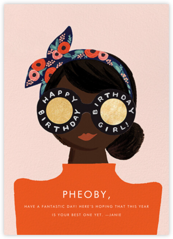 Birthday Shades - Deep - Rifle Paper Co. - Birthday Cards