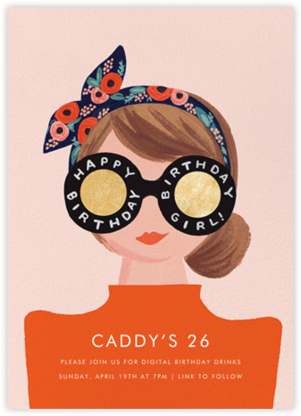 Birthday Shades - Fair - Rifle Paper Co. - Virtual Parties