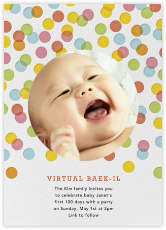 Rainbow Confetti - Petit Collage - Virtual Parties