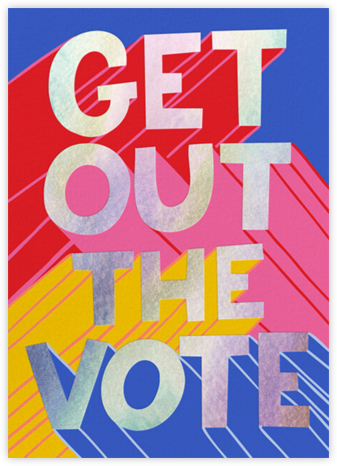 Shout the Vote - Hello!Lucky - Political action