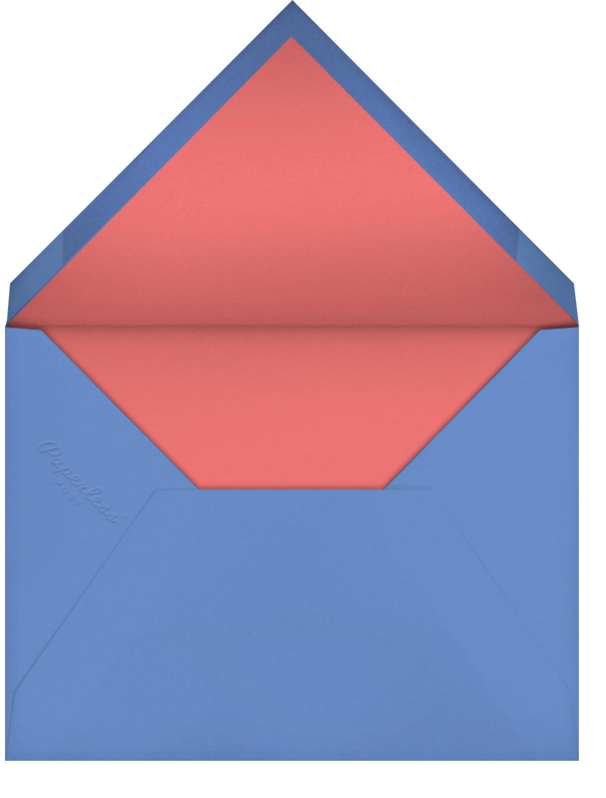 Go Vote - Hello!Lucky - Political action - envelope back