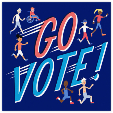 Go Vote - Hello!Lucky - Political action