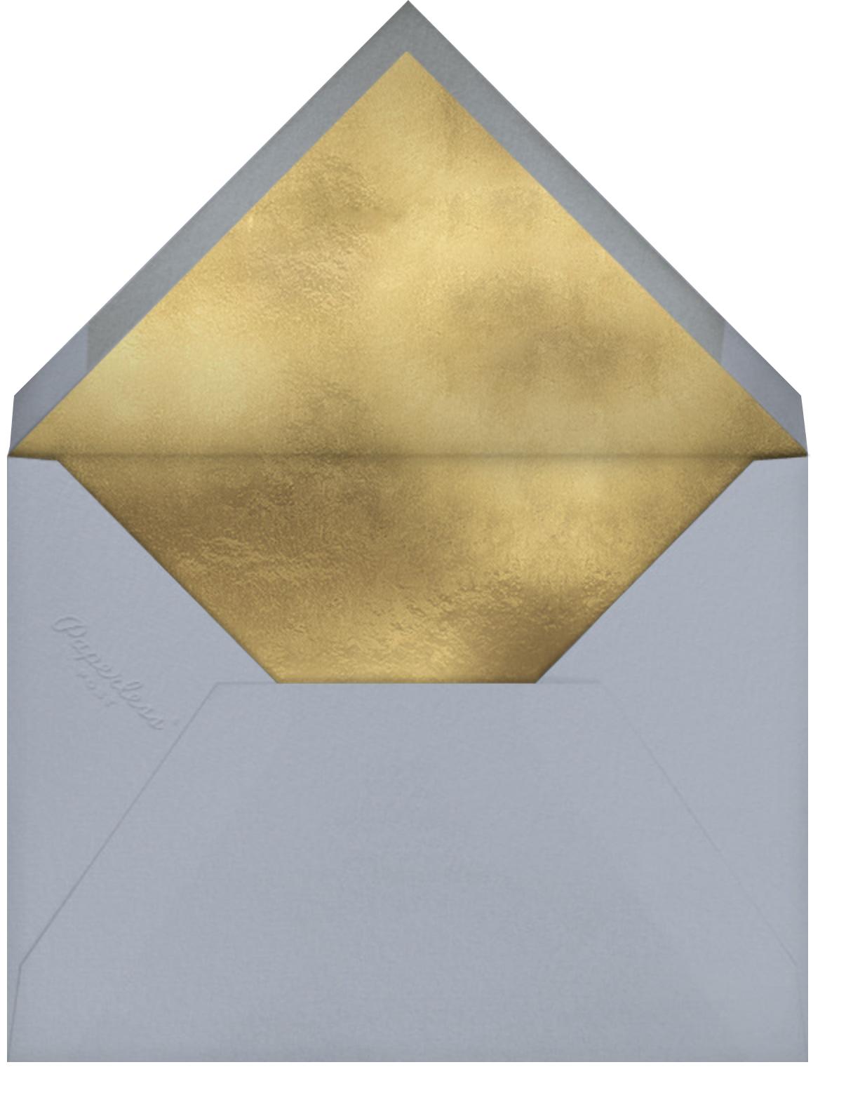 Winter Perennials (Michelle Morin) - Red Cap Cards - Thanksgiving - envelope back