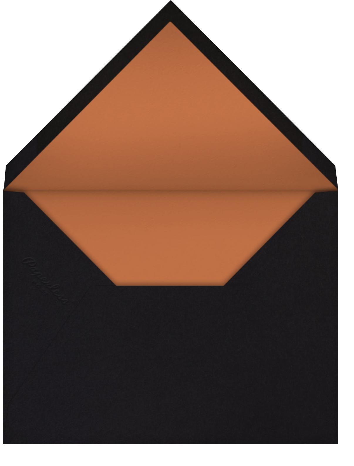 Deco Thanksgiving (Marsha Robinson) - Red Cap Cards - Thanksgiving - envelope back