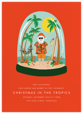 Wish You Were Here - Light - Rifle Paper Co. - Holiday invitations