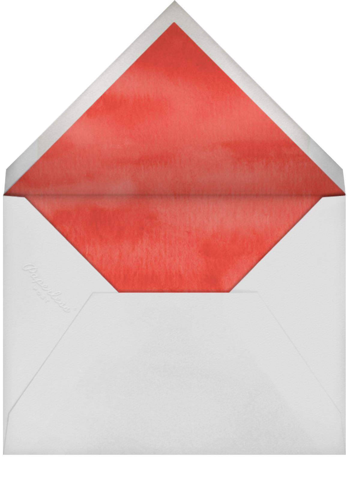 Bed of Berries - Felix Doolittle - Thanksgiving - envelope back