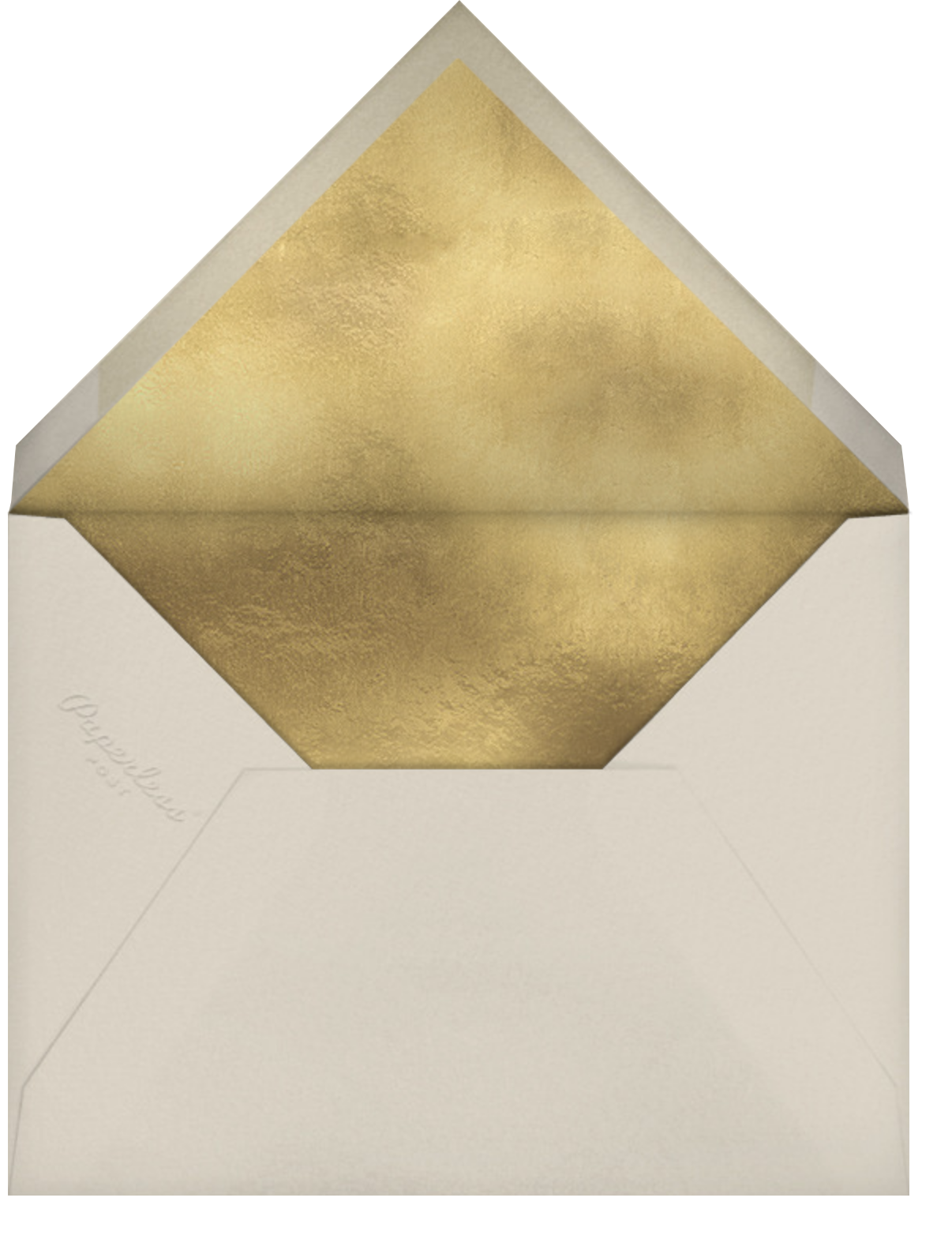 Ye Old Party - Wheat - Paper Source - Halloween - envelope back