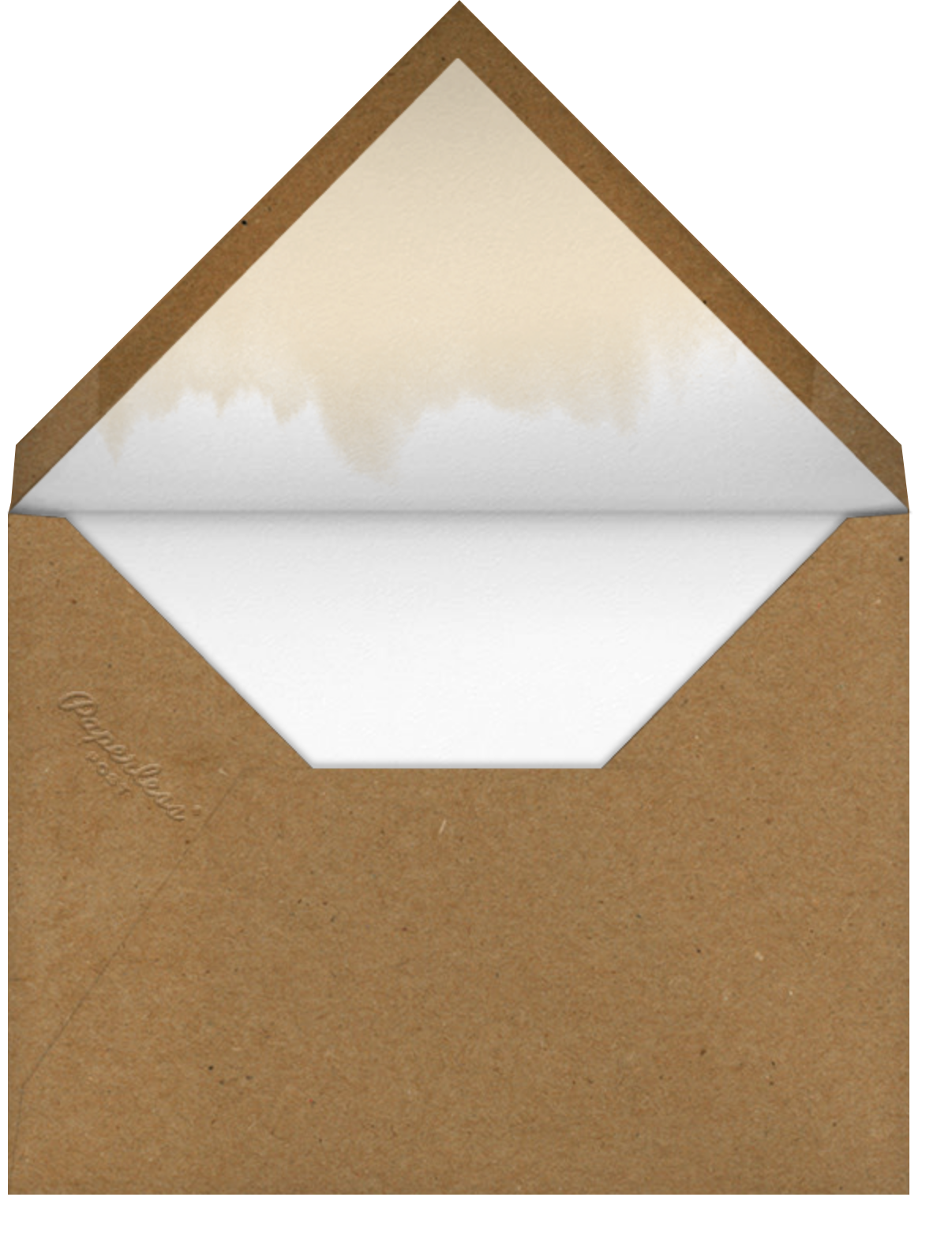 Double Gratitude - Paper Source - Thanksgiving - envelope back