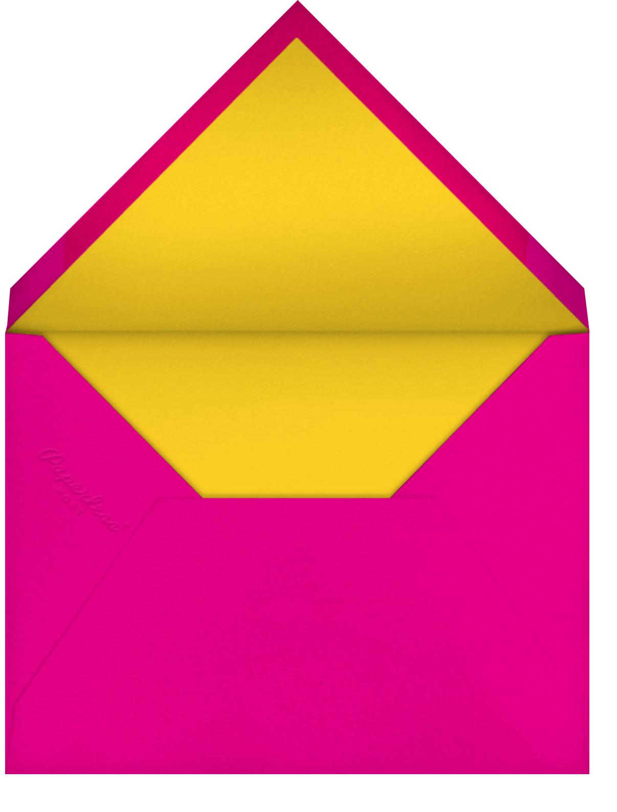 Burst Forth - White/Multi - Paperless Post - Envelope