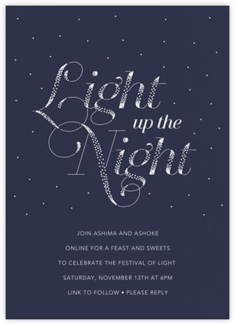 Lighted Night - Paperless Post
