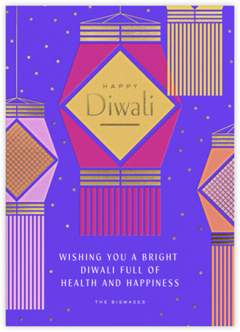 Bright Night - Paperless Post - Diwali Cards