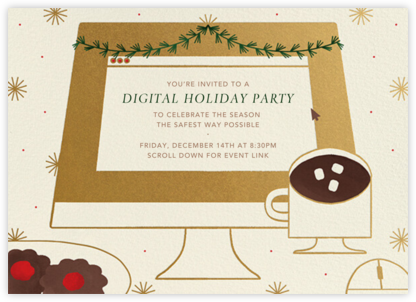 December Desktop - Paperless Post - Holiday invitations