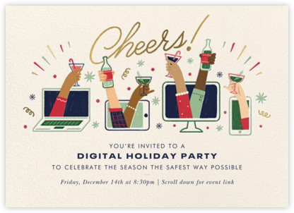 Drinks Up - Paperless Post - Holiday invitations