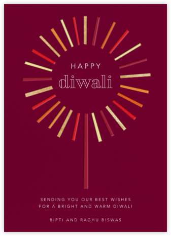 Night of the Sparkler - Paperless Post - Diwali Cards