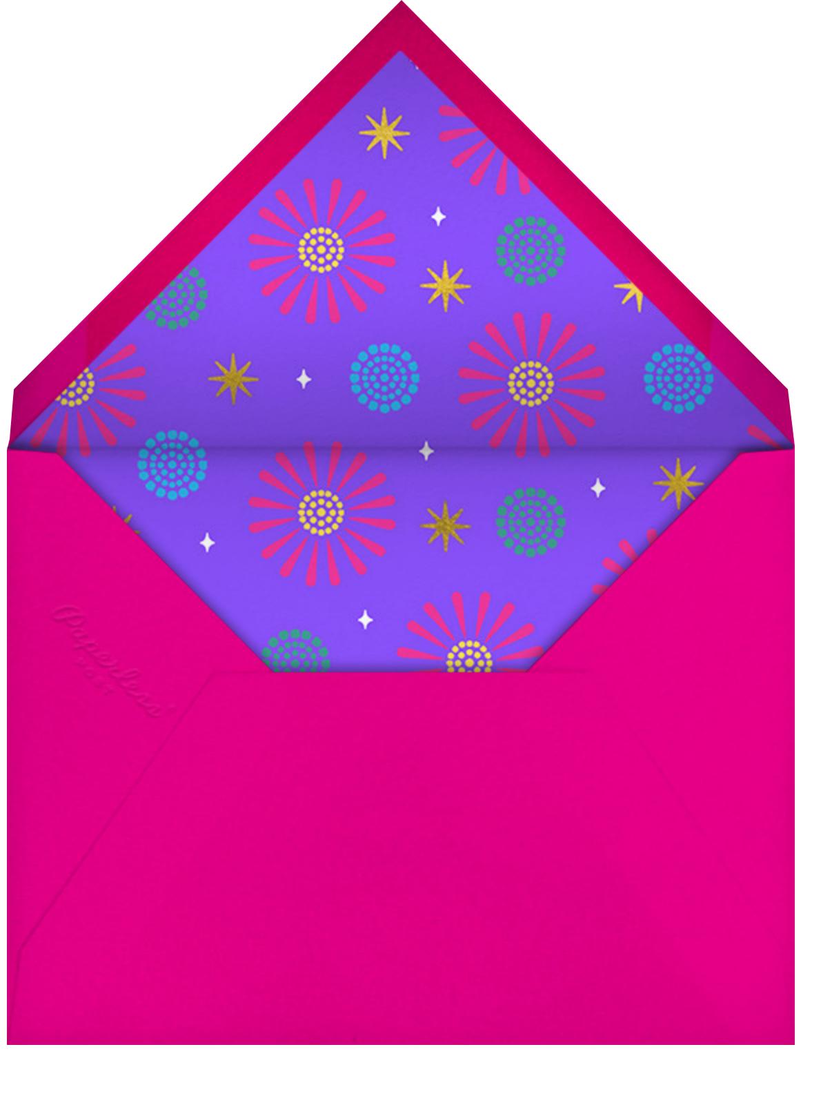 Retro Diwali - Paperless Post - Envelope