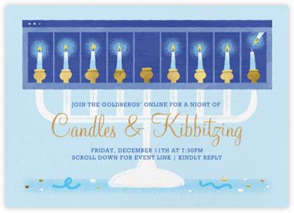 Virtual Candles - Paperless Post - Virtual Parties