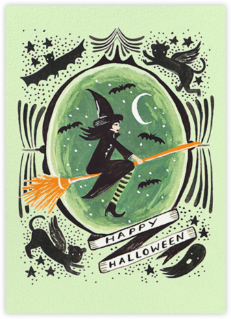 Wicked Witch Halloween - Rifle Paper Co. - Halloween Cards