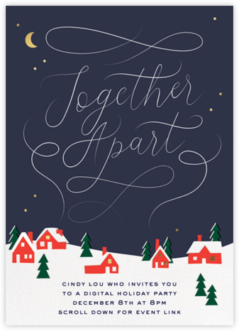 Chimney Smoke - Cheree Berry - Business holiday cards