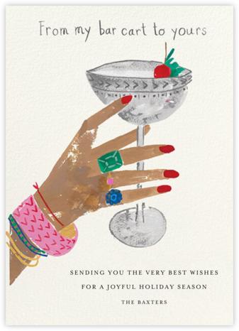 Jeweled Toast - Medium - Mr. Boddington's Studio - Holiday Cards
