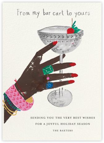 Jeweled Toast - Deep - Mr. Boddington's Studio - Holiday Cards