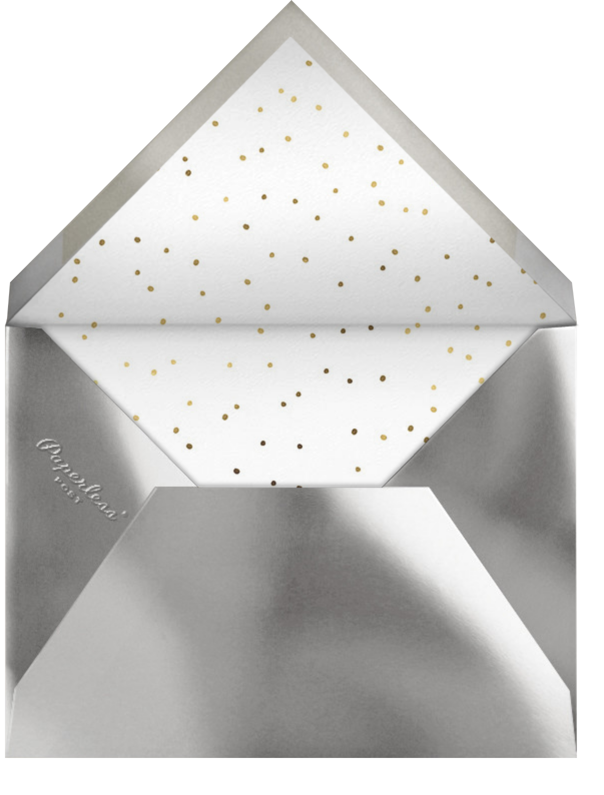 What a Year - Paperless Post - Holiday party - envelope back