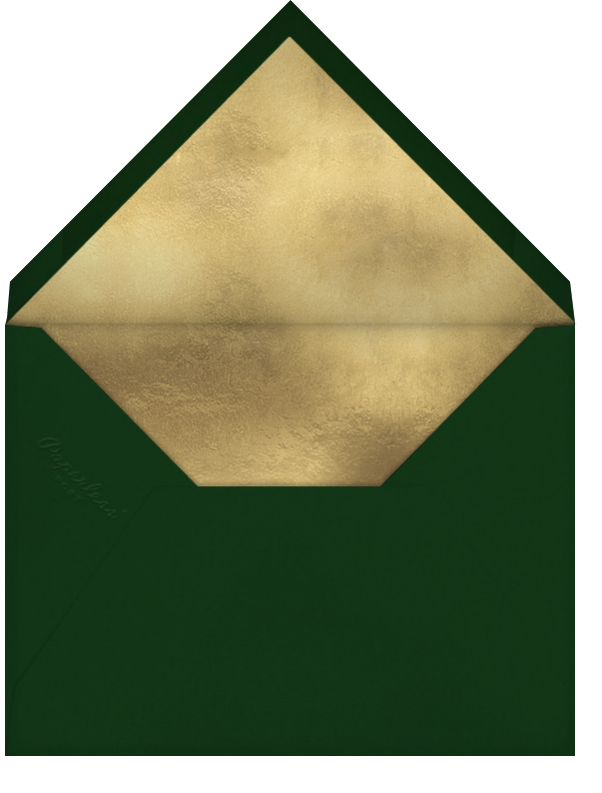Merry Manger - Paperless Post - Christmas party - envelope back
